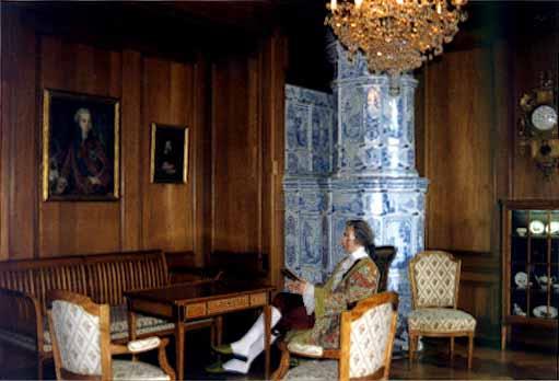 Jegenstorf castle exhibition