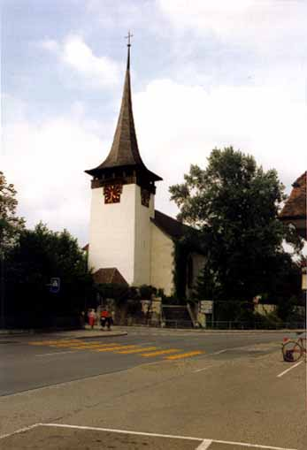Jegenstorf church